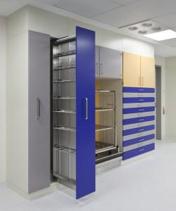 Systèmes d'armoires en acier et en acier inoxydable