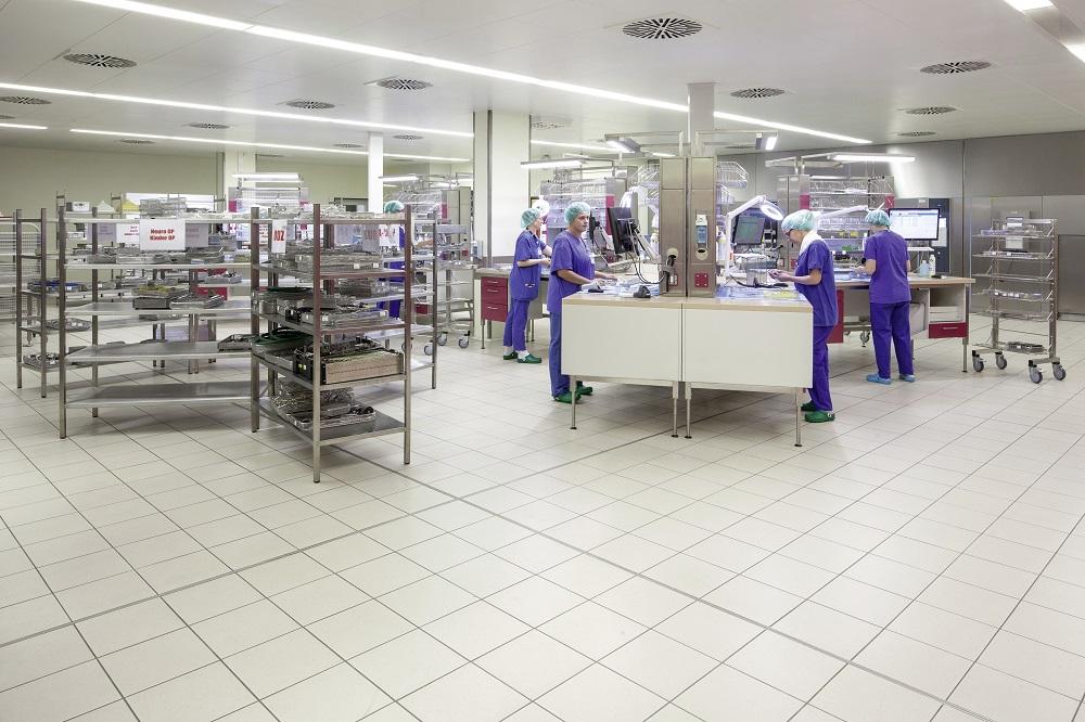 <strong>Service de stérilisation centrale</strong> Universitätsklinikum Mannheim