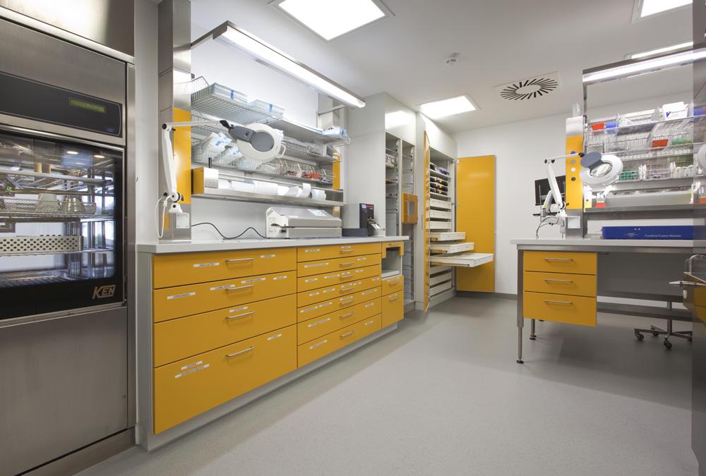 <strong>Service de stérilisation centrale</strong> GEOMED-Klinik Gerolzhofen